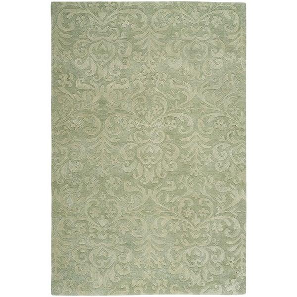Celadon Traditional / Oriental Area Rug