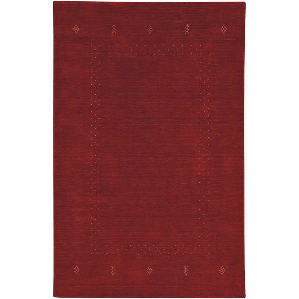 Red Clay Moroccan Area-Rugs