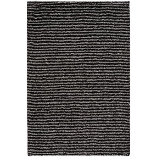 Smoke Striped Area Rug