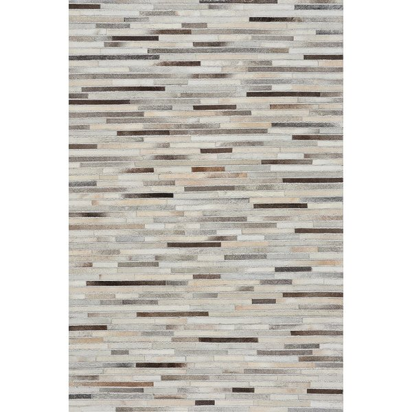 Grey, Beige (3677-375) Contemporary / Modern Area Rug
