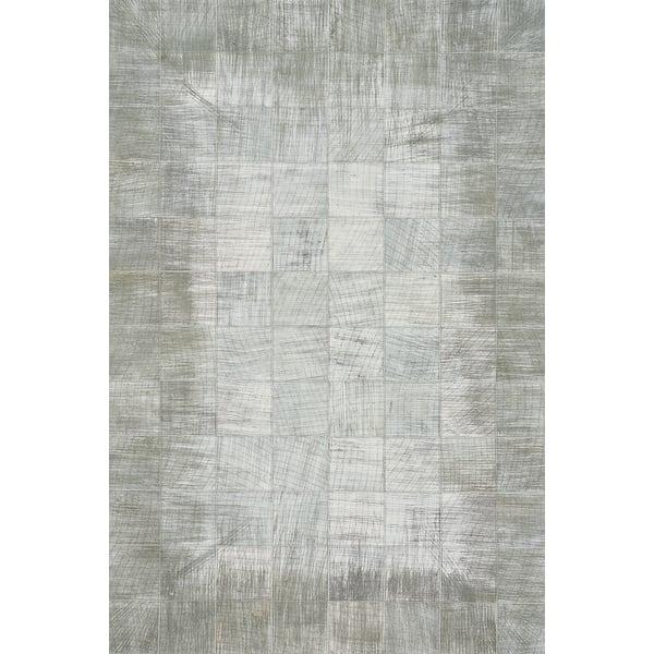 Silver (3675-320) Contemporary / Modern Area Rug