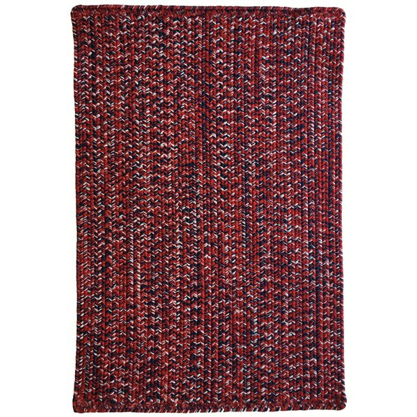 Crimson, Navy (530) Country Area-Rugs
