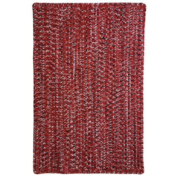 Red, Black (525) Country Area-Rugs