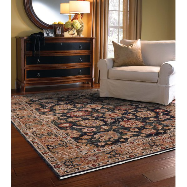 Navy (3452-475) Traditional / Oriental Area Rug