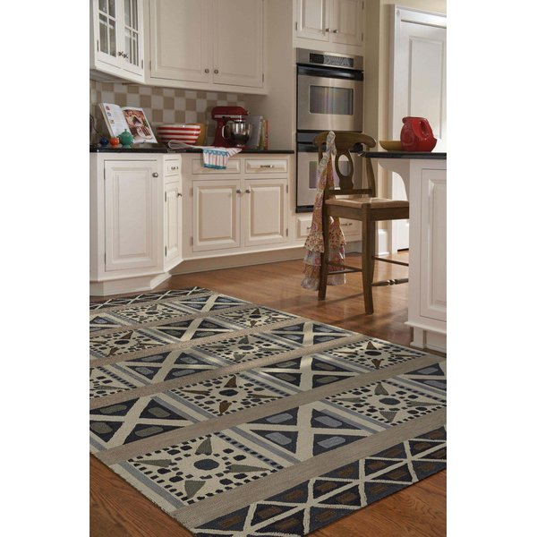 Pewter (9220-340) Contemporary / Modern Area Rug