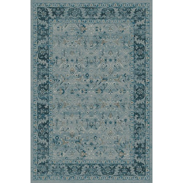 Blue, Blue (4989) Traditional / Oriental Area Rug