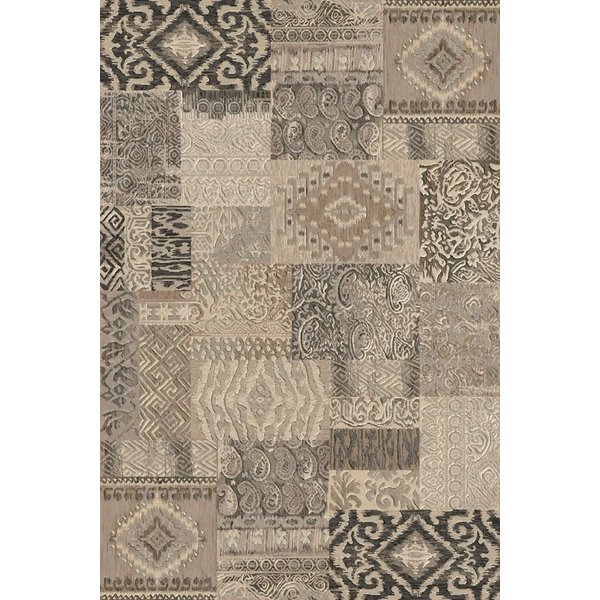 Ivory, Beige (3363) Contemporary / Modern Area Rug