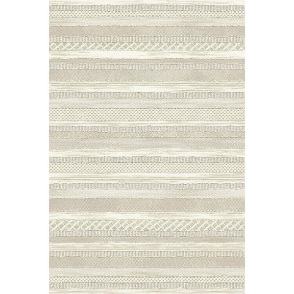 Cream (6575) Contemporary / Modern Area Rug