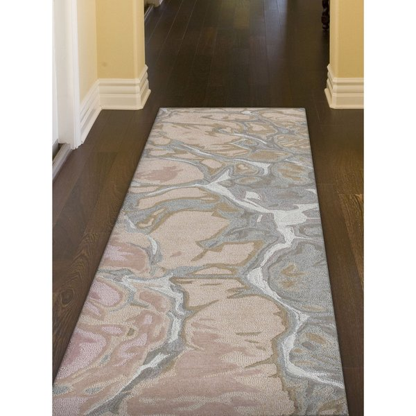 Blush (9146-37) Abstract Area Rug