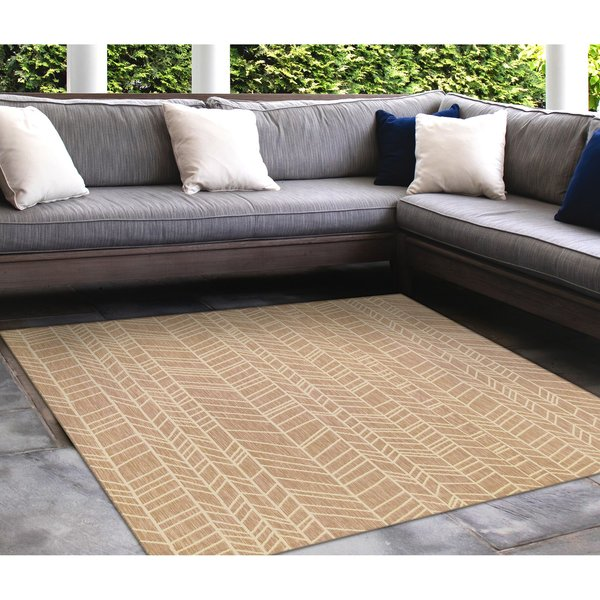 Sand, Ivory (12) Contemporary / Modern Area Rug