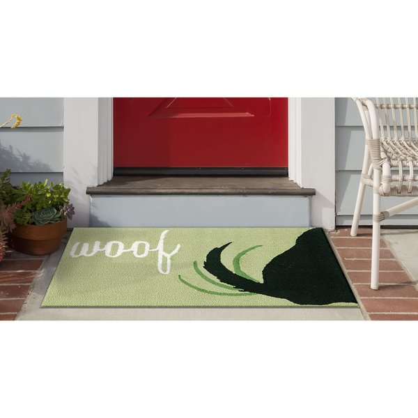 Green (1429-06) Animals / Animal Skins Area Rug