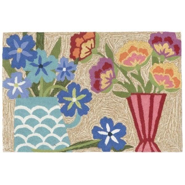 Neutral (1498-44) Floral / Botanical Area Rug