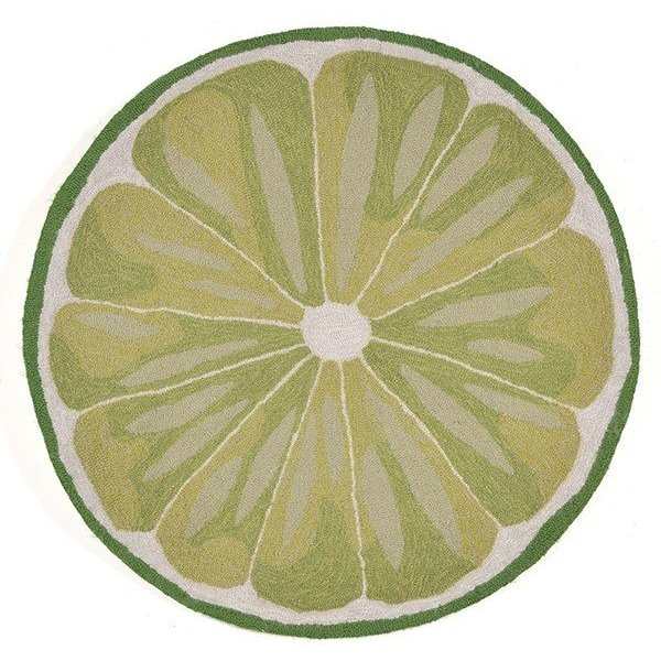 Green (1557-06) Novelty / Seasonal Area-Rugs