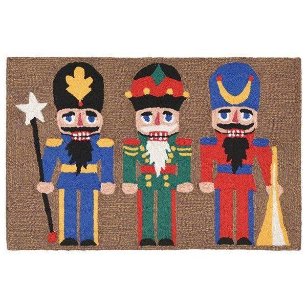 Black (1837-44) Novelty / Seasonal Area Rug