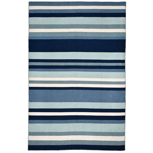 Water (6301-03) Striped Area Rug