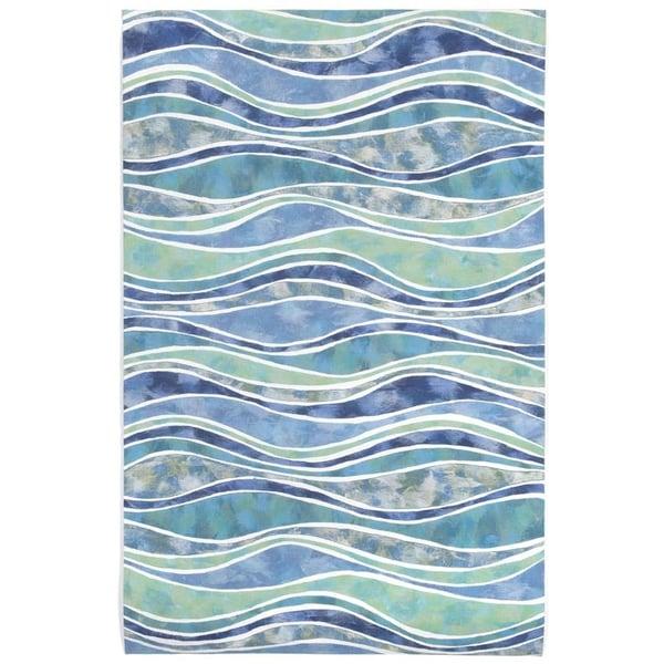 Ocean (3126-04) Contemporary / Modern Area Rug