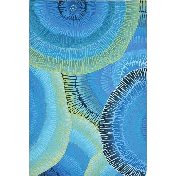 Blue (4302-04) Contemporary / Modern Area Rug