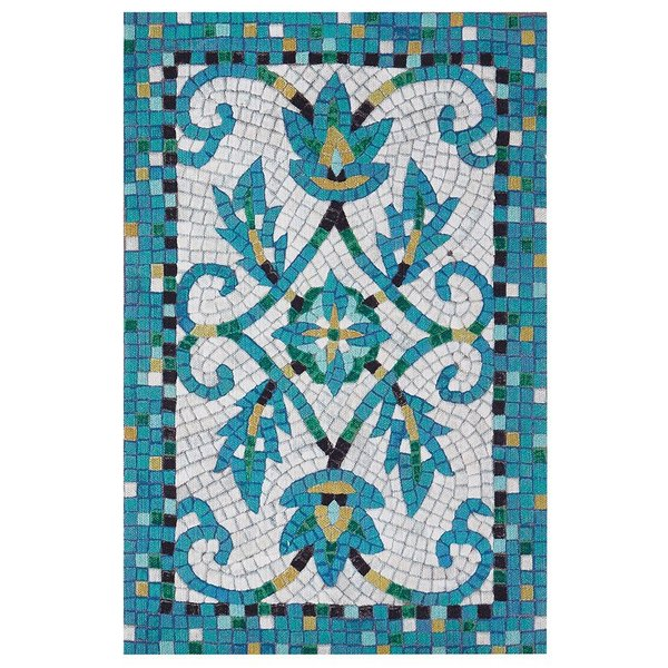 Azure (4309-03) Solid Area Rug