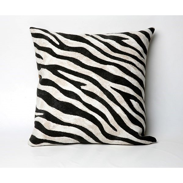 Black, Beige, White (3043-48) Animals / Animal Skins pillow