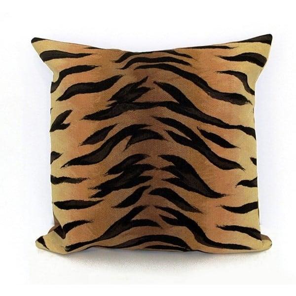 Brown, Black (4085-19) Animals / Animal Skins pillow