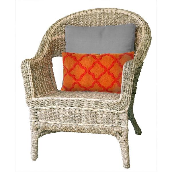 Orange (4132-17) Contemporary / Modern pillow