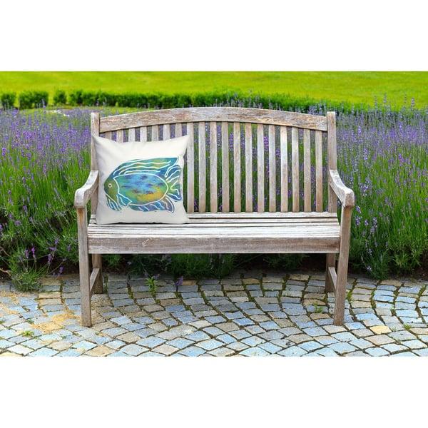 Blue, Green, Purple, White (3124-04) Beach / Nautical pillow