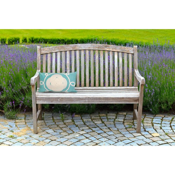 Aqua, White (4143-04) Contemporary / Modern pillow