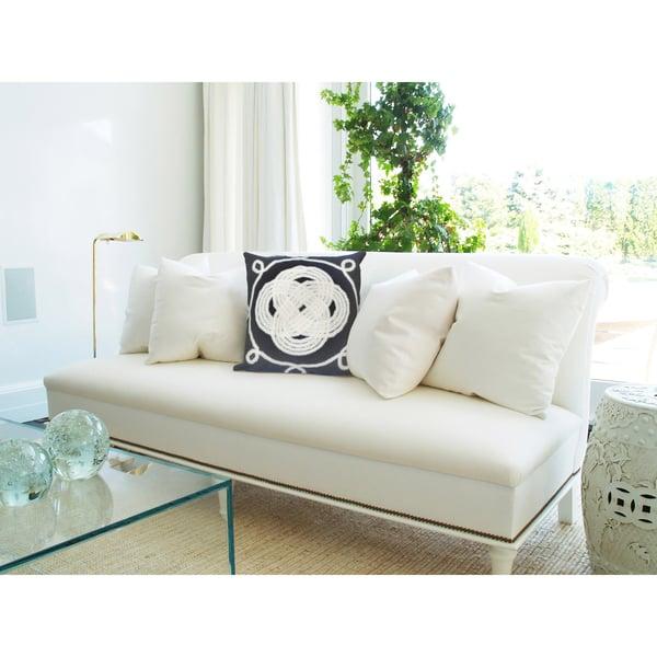 Navy, White (4143-33) Contemporary / Modern Pillow