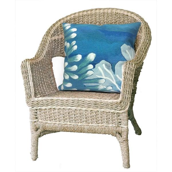 Blue (4212-03) Beach / Nautical pillow