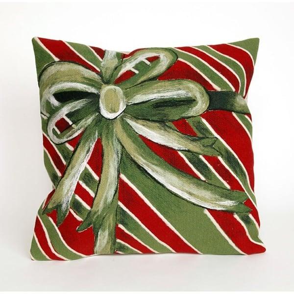 Green, Red, White (4202-06) Novelty / Seasonal pillow