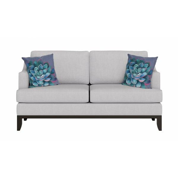 Blue (4316-03) Floral / Botanical pillow