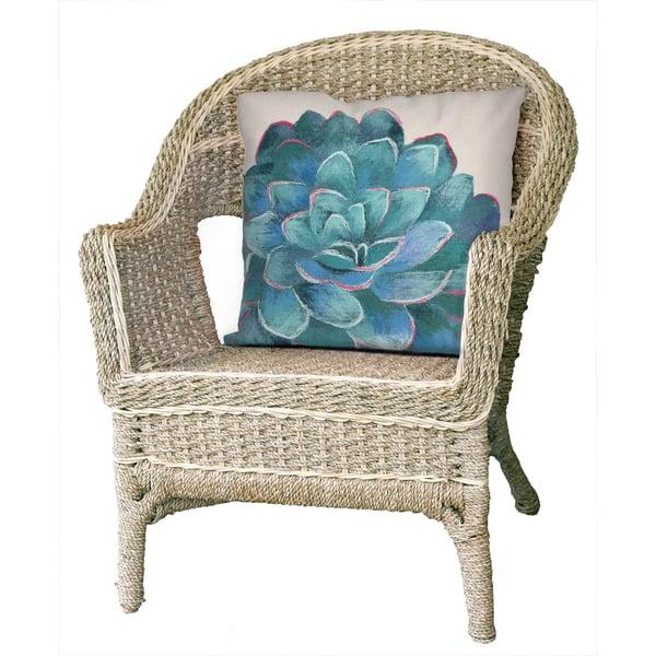 Cream (4316-12) Floral / Botanical Pillow