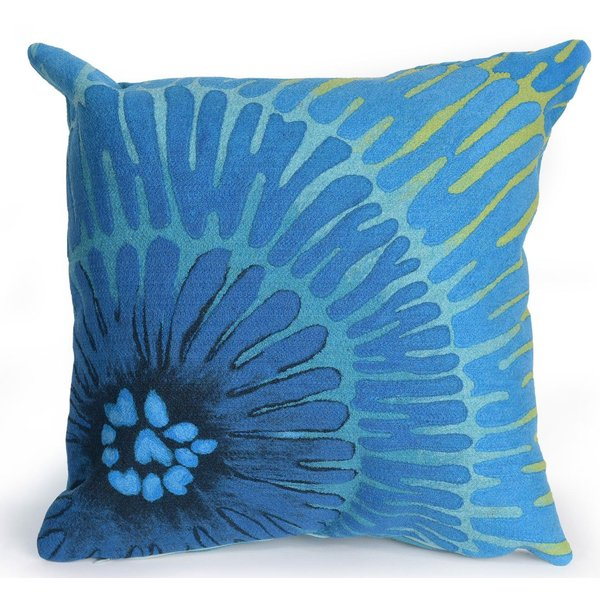 Blue (4302-04) Abstract pillow