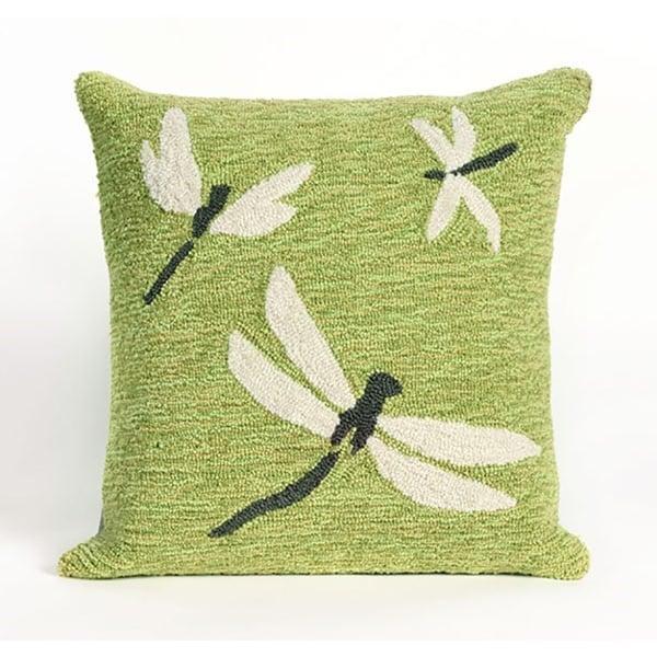 Green, Grey, White (1415-06) Novelty / Seasonal Pillow