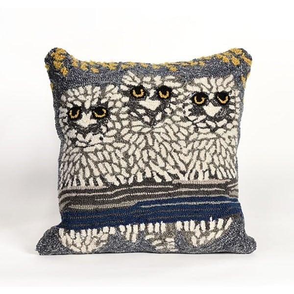 Brown, Grey, White (1443-47) Animals / Animal Skins pillow
