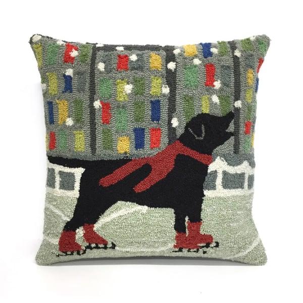 Red, Black, Blue, Green, Gray (1526-24) Novelty / Seasonal pillow