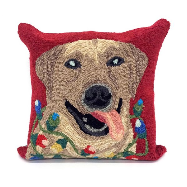 Red, Beige, Black (1561-24) Novelty / Seasonal Pillow