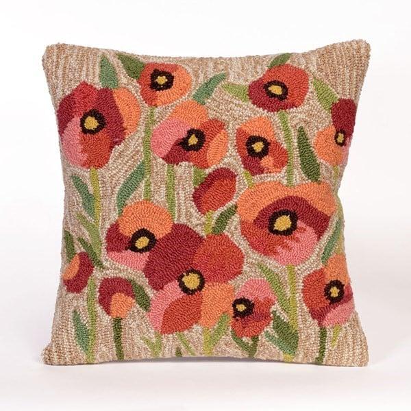 Neutral (4244-12) Floral / Botanical pillow