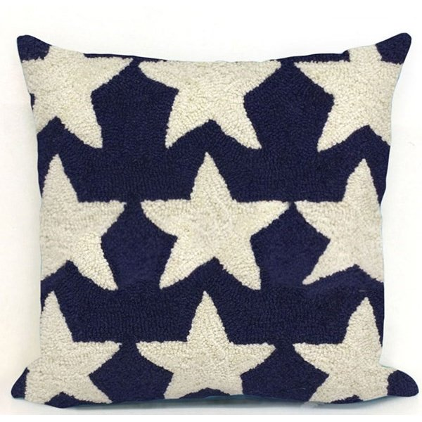Blue, White (4251-03) Novelty / Seasonal pillow