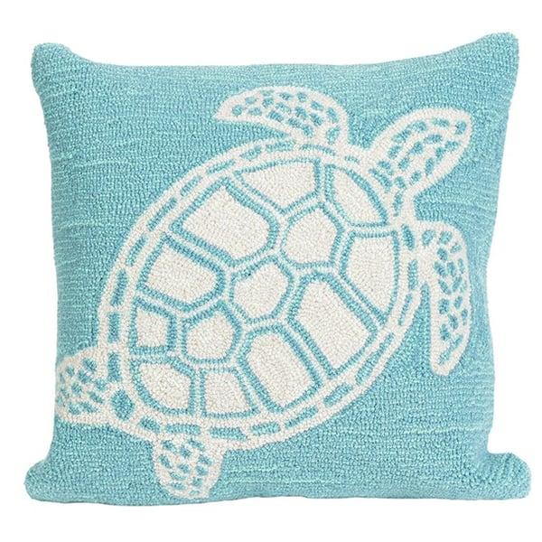 Aqua (1634-04) Animals / Animal Skins Pillow