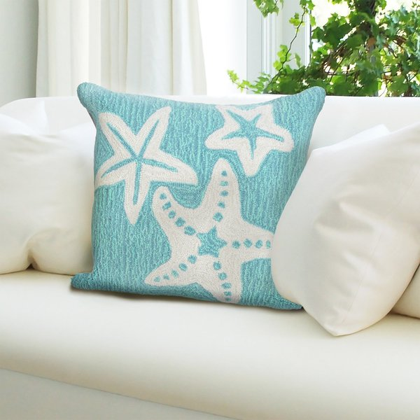 Aqua (1667-04) Beach / Nautical pillow