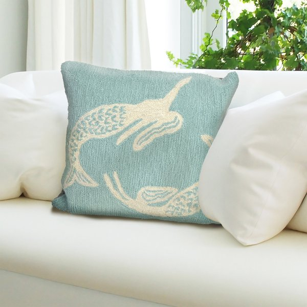 Aqua (1674-04) Novelty / Seasonal Pillow