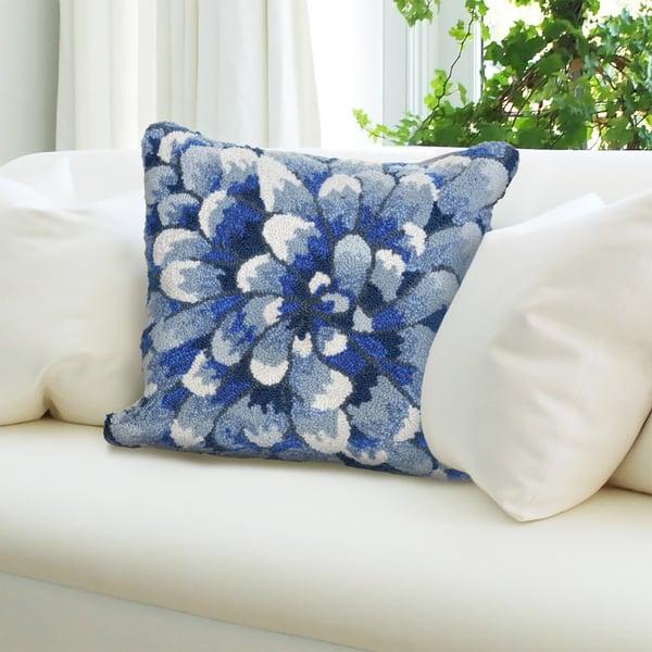 Blue (1828-03) Floral / Botanical pillow