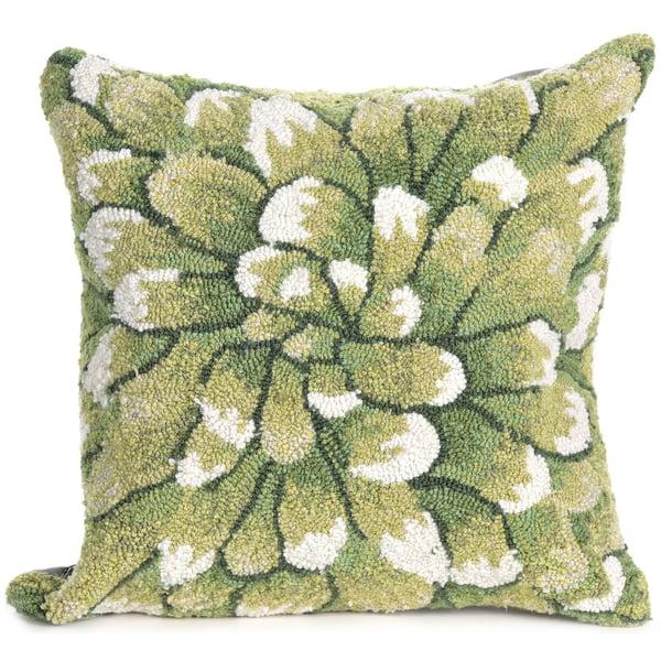 Green (1828-06) Floral / Botanical Pillow