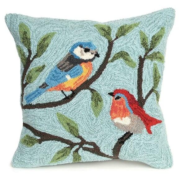 Aqua (2270-04) Animals / Animal Skins pillow