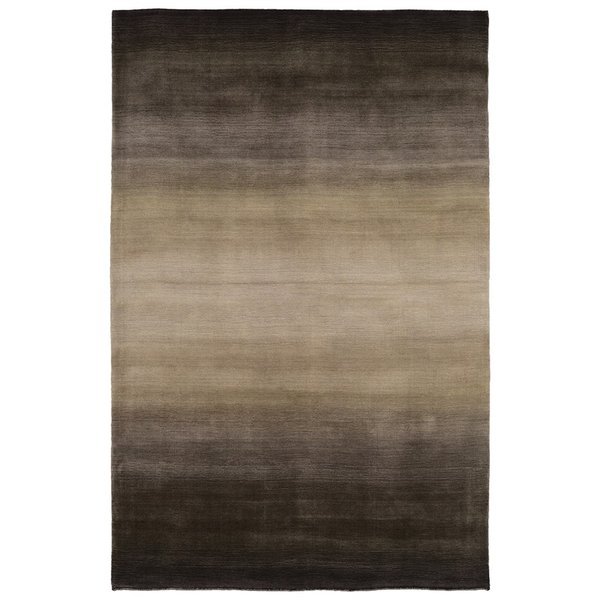 Charcoal (7250-47) Contemporary / Modern Area Rug