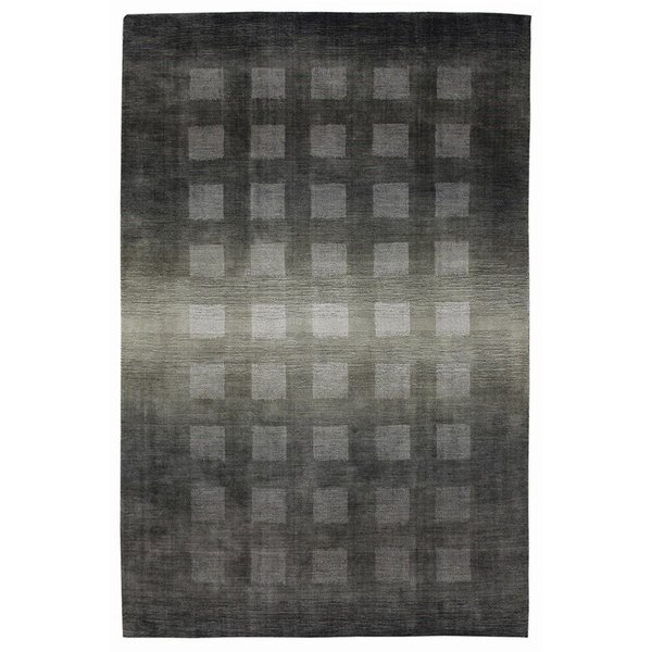 Charcoal (7251-47) Contemporary / Modern Area Rug
