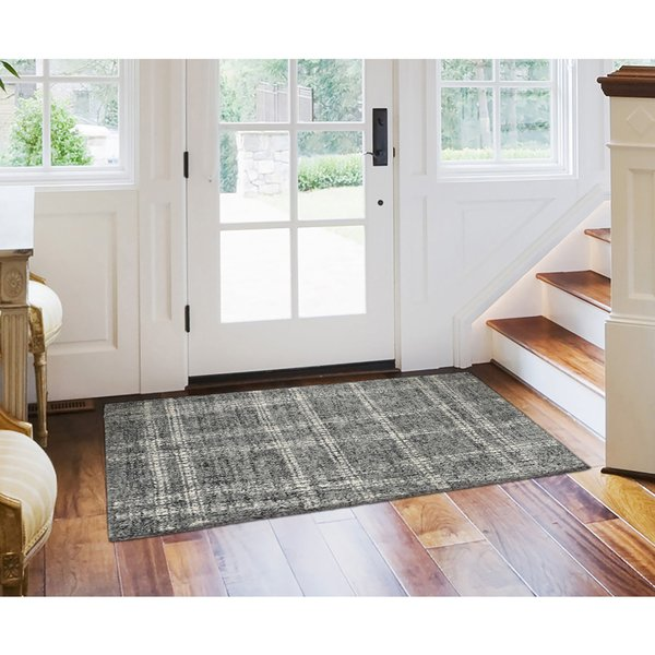 Flannel (9506-19) Contemporary / Modern Area-Rugs