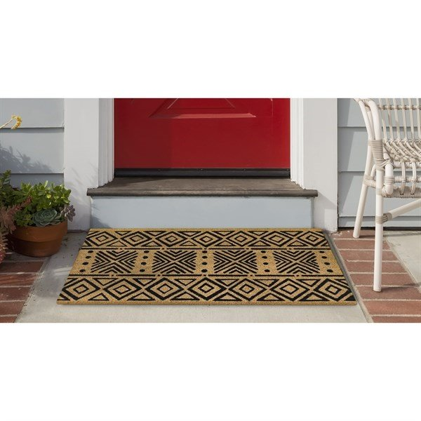Black, Natural (2236-48) Moroccan Area-Rugs