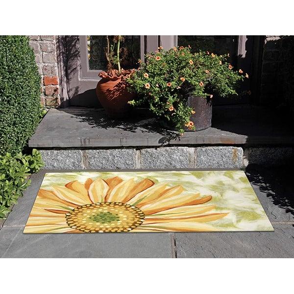 Yellow (3266-09) Floral / Botanical Area Rug